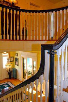 Historic Canner Mansion c.1920 - Stairway