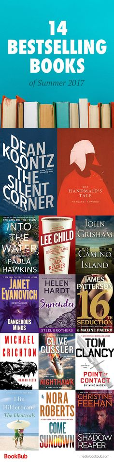 14 bestselling books worth reading. Including some of the best books of summer 2017.