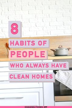 Check out these house cleaning tips so that you can learn how to have a clean house all the time! These cleaning hacks tips and tricks are great for the home!