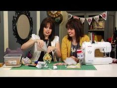 http://www.theDIYdish.com - Visit www.theDIYdish.com for more how-to projects and webisodes.  Kim and Kris will show you how to make a darling owl pin cushion -- ready to add to your collection of pin cushions and ready to be sat up next to your machine!  Turn the owl into a paper craft or pillow, too!  Plus, they're giving away a Janome embroid...
