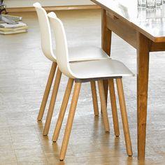 Vitra Hal Wood Side Chair