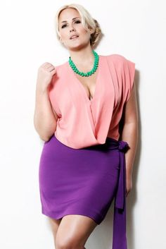 plus size. who talks about plus size? Curvy Girl Fashion, Love Fashion, Plus Size Fashion, Womens Fashion, Petite Fashion, Fall Fashion, Style Fashion, Plus Zise, Mode Plus