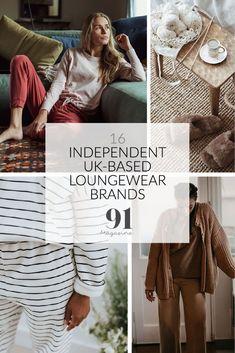 Stylish indie loungewear brands UK Sustainable Clothing, Sustainable Fashion, Beaumont Organic, Cotton Pyjamas, Indie Brands, Slow Fashion, Loungewear, Fashion Brand, Pajama Set