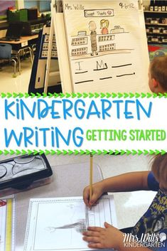 Getting Started With Kindergarten Writing Kindergarten Writing Activities At The Beginning Of The Year Through Shared Writing And Interactive Writing Students Learn The Structure Of Writers Workshop Take A Look At How We Shared The Pen In My Classroom Kindergarten Writing Journals, Beginning Of Kindergarten, Kindergarten Lesson Plans, Kindergarten Science, Writing Lessons, Kindergarten Reading, Teaching Writing, Kindergarten Graduation, Kindergarten Interactive Writing