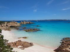Happy Travel Time. Behold the utter #beauty of Spiaggia Rosa, an almost tropical sight in #Sardinia, #Italy. What's your next destination? #beachstyle #fashion #zeybra #beachwear #essentials zeybra.com