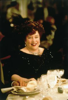Titanic: Kathy Bates as The Unsinkable Molly Brown