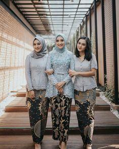 Party room elegant 51 ideas for 2019 Kebaya Modern Hijab, Kebaya Hijab, Modern Hijab Fashion, Kebaya Muslim, Batik Fashion, Kebaya Lace, Kebaya Dress, Batik Kebaya, Batik Dress