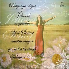 Salmos 135:5