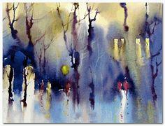 Viktoria Prischedko watercolors aquarelle