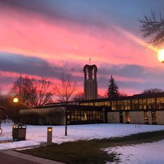 Good morning Concordia! #cordmn (Photo: @mikaelaherberg)