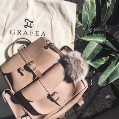 www.grafea.com #fashion #travelling #style #blog #bag #beautiful #blogger #leather #bag #streetstyle #beige #fashion