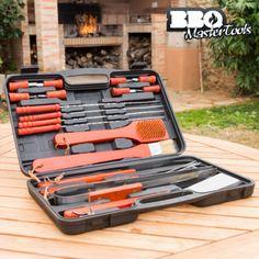 Maletín para Barbacoas BBQ Master Tools (18 piezas) - 1256