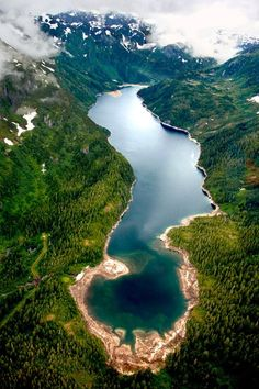 Juneau, Alaska.  Amazing picture