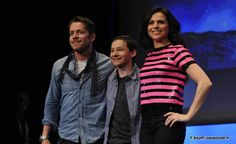 Lana Parrilla, Jared S. Gilmore et Sean Maguire - Fairy Tales 2 Convention (Once Upon A Time) #OUAT #FT2