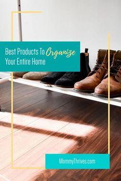 Organization Tips and Tricks For Home - Home Organization Products That Work - Get Rid Of Clutter With These Products Entryway Organization, Small Space Organization, Home Organization Hacks, Organizing Ideas, Organizing Clutter, Organizing Your Home, Pantry Storage Containers, Getting Rid Of Clutter, Clean House