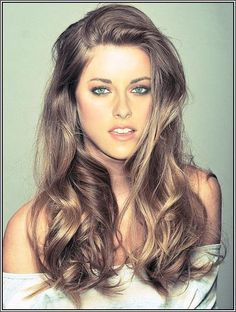 best brown hair color tone for blue grey eye color and pale skin - Google Search