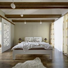 Bedroom made by Kristina Proksova in Klinec