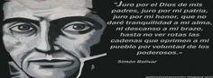 Simon Bolivar, El Libertador...