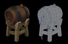 Barrel, Ejeet  Espiritu on ArtStation at https://www.artstation.com/artwork/barrel-19234abf-8d0d-41a4-908b-dec02f8aa1d1