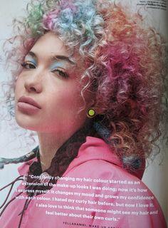 Fall 2019, British edition Glamour Magazine, British, Dreadlocks, Hair Styles, Fall, Beauty, Hair Plait Styles, Autumn, Hairdos