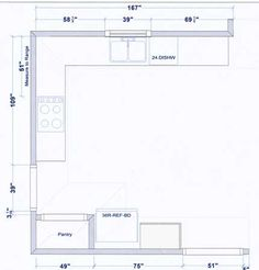 Sample Kitchen Floor Plans