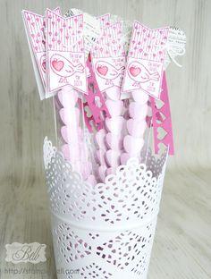 Goodies Valentinstag zellophantüten Mini Leckereientüte  Stampin up! Valentinesday  Mothersday
