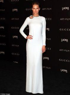 Toni Garnn was a statuesque stunner at the LACMA Art + Film Gala http://dailym.ai/1DMjl91