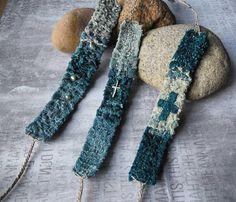 Новые хиповские льняные тканые браслетики на лето. New woven linen bracelets