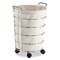 Organize It All Laundry Clothes Hamper Basket With Canvas Bag At Sears.com