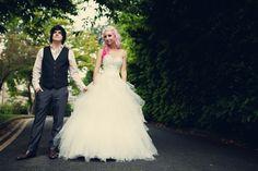 A Pink & Leopard Print Themed DIY Wedding: Ele & Ralph