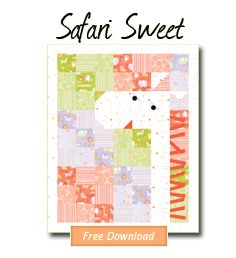 Safari Sweet by Penguin & Fish.  Free pattern!