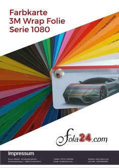 Car Wrapping Folie in unserem Onlineshop bestellbar : www.fola24.de