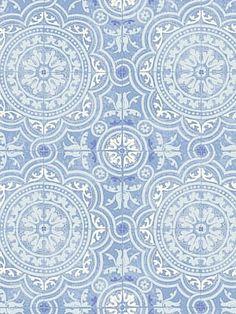 DecoratorsBest - Detail1 - CS 94/8042 - PICCADILLY-SOFT BLUE - Wallpaper - DecoratorsBest