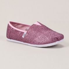 Youth Glitter Slip On