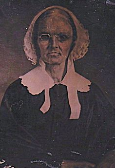 Quaker woman, 1860s. Emerging in the mid 1600s in Britain, the Society of Friends (or Quakers) were strongly influenced by Anabaptists -- most likely Dutch Mennonites via the English General Baptists. Friends adapted their teachings of Plainness, pacifism, and discipleship, as well as internal church organization.