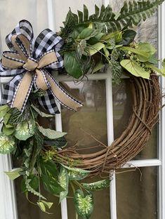 Valentine Day Wreaths, Easter Wreaths, Christmas Wreaths, Spring Wreaths, Wreaths For Front Door, Door Wreaths, Grapevine Wreath, Country Wreaths, Year Round Wreath