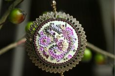 bloom of spring pendant by Chili Crab, via Flickr