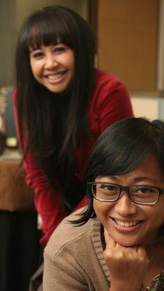 With Valentina