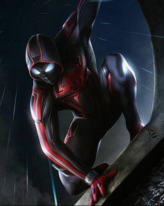 Miles Spiderman, Miles Morales Spiderman, Black Spiderman, Spiderman Art, Amazing Spiderman, Marvel Comic Universe, Marvel Art, Marvel Dc Comics, Marvel Heroes