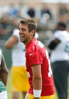 The beautiful Aaron Rodgers
