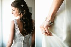 half up half down bridal hair // photo by Josh McCullock Photography