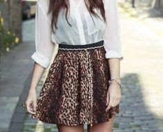 Transparent shirt with black underneath tones the white down, creating a perfect match for the print.