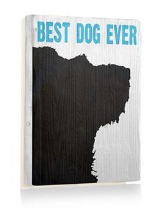 75% OFF Ursula Dodge Best Dog Ever Reclaimed Wood Sign