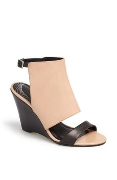 aade7b761502de Trouve Trouvé  Raley  Cuff Wedge Sandal available at  Nordstrom High Sandals