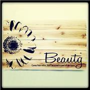 Beauty Pallet Art. 50cmx50cm or 1mx1m