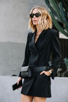 All Black Fashion, 80s Fashion, Work Fashion, Fashion Dresses, Fashion Looks, Fashion Tips, Fashion 2020, Fashion Styles, Looks Style
