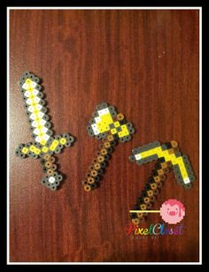 Hey, I found this really awesome Etsy listing at http://www.etsy.com/listing/160048670/8-bit-pixel-pickaxe-shovel-axe-sword
