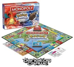 Pokemon-Kanto-Edition-Monopoly-Board-Games-Game-BRAND-NEW-SEALED
