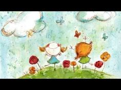 ▶ Happy Relaxing Guitar Music For Children - YouTube