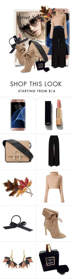 """Lace It Up"" by kari-c ❤ liked on Polyvore featuring Kershaw, Samsung, Chanel, 3.1 Phillip Lim, Marco de Vincenzo, Anne Klein, L. Erickson, 424 Fifth, Marni and laceup"